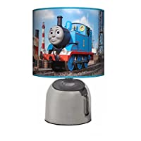 THOMAS THE TANK ENGINE - BEDSIDE TOUCH LAMP - BOYS BEDROOM LIGHT / LAMP SHADE - MAINS OPERATED (UK PLUG)
