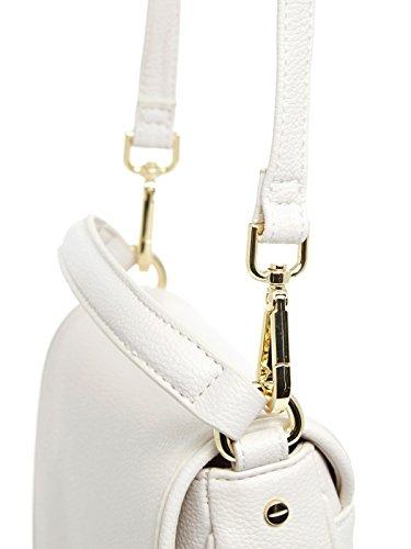 Indovina Sole Piccolo Handtasche 20 Cm Bianco
