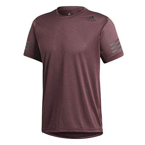 adidas Herren Freelift Climacool Kurzarm T-Shirt, Noble Maroon, S -