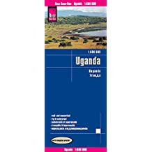 Reise Know-How Landkarte Uganda (1:600.000): world mapping project