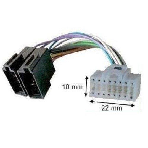 TechExpert Adapter-Kabel ISO für Autoradio Alpine 16-polig weiss