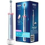 Oral-B PRO 3000 Brosse à Dents Électrique Rechargeable avec 1 Manche Capteur de Pression et 1 Brossette Sensitive Clean