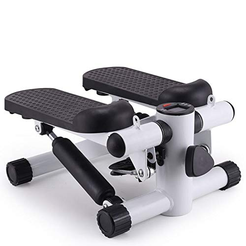 DFMD Professionelle Indoor Mini Stepper, Ultra-leise Office Home Sportgeräte Pedal Machine Multifunktions-LED-Anzeige Kalorien Bewegung Zeitschritte (Color : Black)