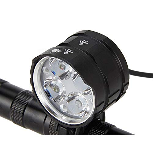 JJSG 8000Lm Bike Lamp 4X Xml T6 Led Bike Luz Delantera