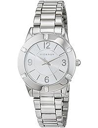Viceroy 40922-05 FMB_BM - Reloj analógico de cuarzo para mujer, plateado
