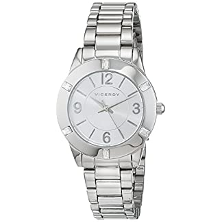Viceroy 40922-05 FMB_BM – Reloj analógico de cuarzo para mujer, plateado