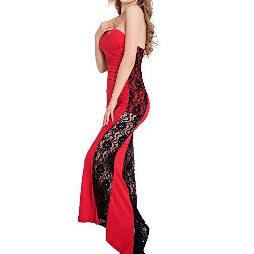 E-Girl Or70210 Damen Abendkleid Rot