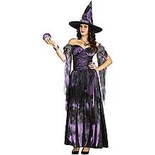 generique Costume da strega viola per donna halloween S   M cc5953fed60d