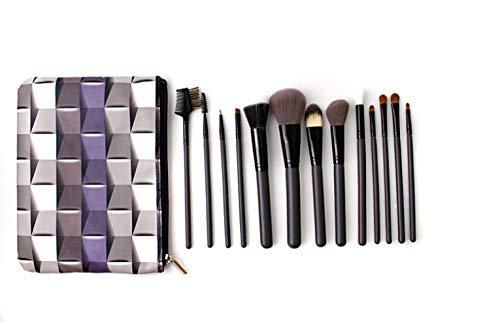 Zipp Brush (MPKHNM Neue Make-up-Pinsel 14 Make-up-Pinsel-Set Zipp-Beutel Make-up-Pinsel-Version mit Beauty-Tools)
