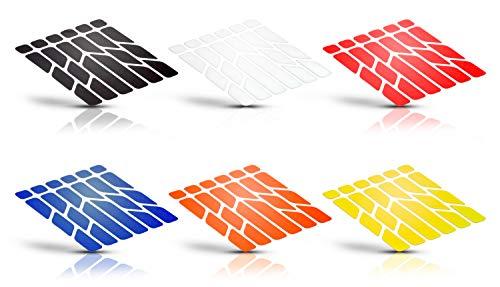 Riesel Design-Reflex-Black-Reflektierende Sticker-Sicherheit im Dunkeln