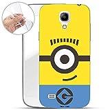 Hülle für Samsung Galaxy S4 - Minions Handyhülle mit Motiv und Optimalen Schutz TPU Silikon Tasche Case Cover Schutzhülle - Simply Minion