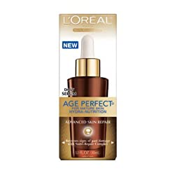 Loreal Age Perfect Hydra-Nutrition Advanced Skin Repair Daily Serum - 1 Oz, 6 Pack