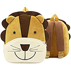 QUICKLYLY Mochilas Infantiles para Niños Backpack Mochila Recién Nacido Escolares Juveniles Niños Niñas bebés Cute Cartoon Animal Mochila Toddler School Bag