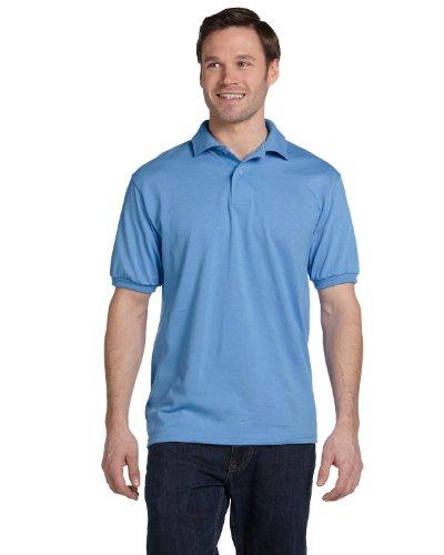 Best Man Ever auf American Apparel Fine Jersey Shirt Carolina Blue