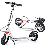Roller 2 Rad Roller Für Erwachsene Kinder Folding Tragbare Mini Fahrrad Erwachsene Tretroller Höhe Einstellbar Roller Professionelles Design Rollschuhe, Skateboards Und Roller
