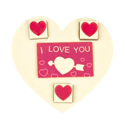 ChocoHerz 'Love' mit Schokosteinen Herz