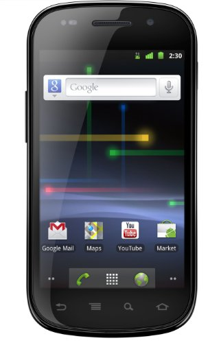 Foto Samsung Nexus S i9023 Smartphone, schermo Touchscreen LCD Super Clear, Android 2.3, fotocamera da 5 Megapixel, colore: Nero/Argento