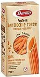 Barilla - Pasta Legumi - Penne di Lenticchie Rosse, Ricchi di Fibre e Proteine - Senza glutine - Pacco da 250 g