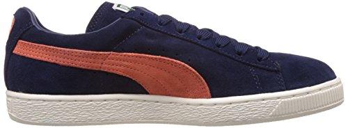 Puma Classic Plus Forever, Sneaker Unisex Adulto Blu (Peacoat/Nasturtium/Whisper White 42)
