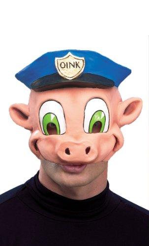 Schweine-Polizist Halbmaske