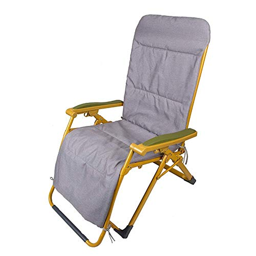 Oevina Campingstühle Klapplounge Liegestuhl Sonnenliege Patio Chaise Lounge Chairs Outdoor Yard Pool Liege mit Sitzkissen (Color : C) - Outdoor Chaise Lounge-set