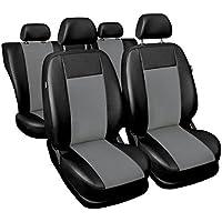 (SU-G) Universale Set coprisedili auto compatibile con SUBARU (FEORESTER, IMPREZA, LEGACY, OUTBACK) (ecopelle e (2006 Subaru Legacy Sedan)