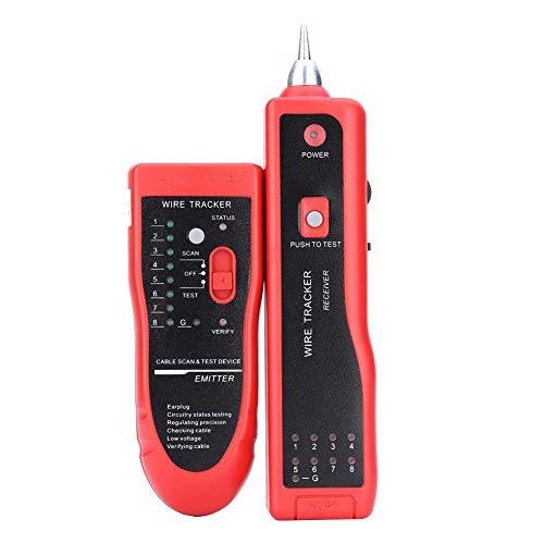 VBESTLIFE Kabeltester,Telefonkabel Tracker Tracer,Netzwerkkabel Tester Detektor Line Finder für UTP/STP / RJ45 / RJ11