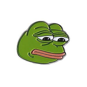 Trauriger Pepe der Frosch Revers Stift Broschen