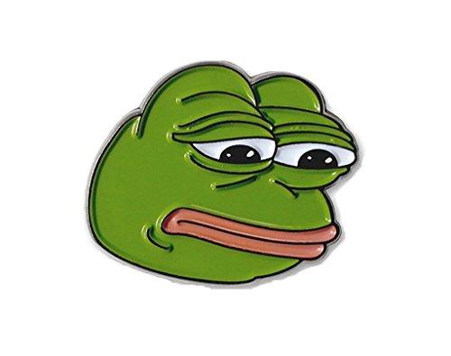Trauriger Pepe der Frosch Revers Stift - Revers-stifte
