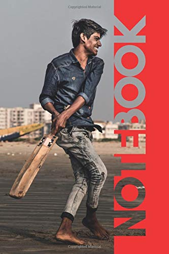 Notebook: Beach Cricket Terrific Composition Book for Fast Bowling Match por Molly Elodie Rose