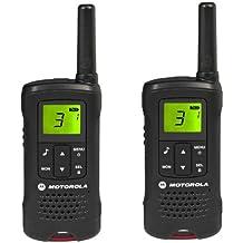 MOTOROLA Walkies Talkies TLKR T60 - negro + Auricular NTN8870DR
