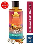 Cocomo Natural, Mineral Oil Free, Coconut, Olive & Almond Hair Oil for Kids - 300ml (Age: 4 yrs and Above)