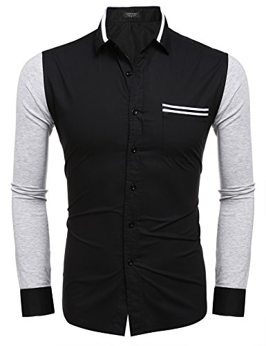 cooshional - Chemise casual - Homme Noir