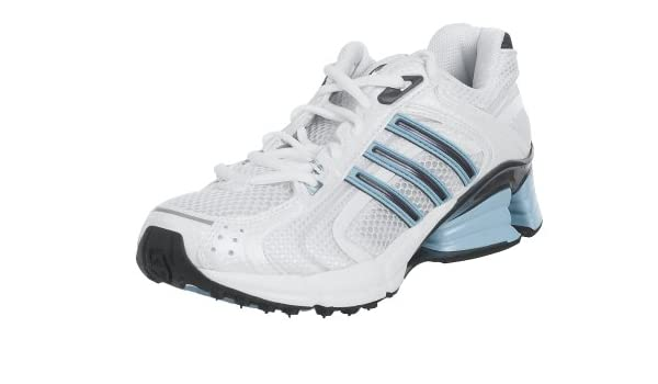 verano Ciudad Menda operación  Buy Adidas Women's a3 Cushion Running Shoe, White/Gray/Blue, 7.5 M ...