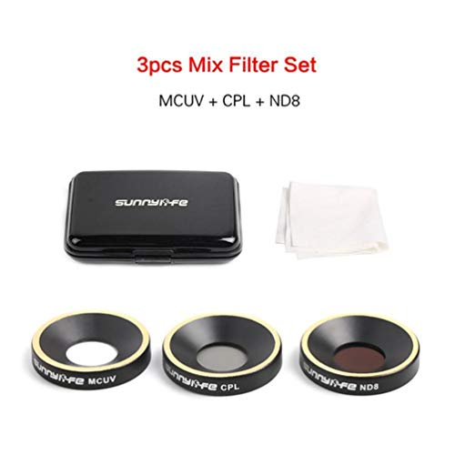 Nd4 Nd8 Nd16 Nd32 Cpl Mcuv Lens Filter para Parrot Anafi Drone Gimbal Lens - Negro
