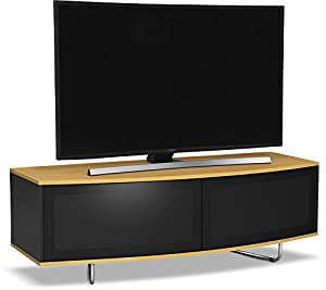 """MDA Designs Caru TV Stand For Up To 65"""" TVs - Oak"""