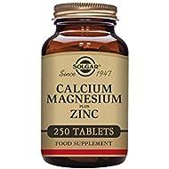 Solgar® Calcium Magnesium Plus Zinc Tablets - Pack of 250