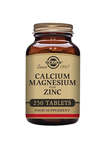 Solgar® Calcium Magnesium Plus Zinc Tablets - Pack of 250