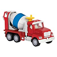 ‏‪DRIVEN by Battat – Micro Cement Truck – Toy Cement Truck with Light and Sound Effects for Kids Age 4+‬‏