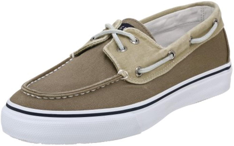 Sperry - Zapatos de cordones de lona para hombre  -