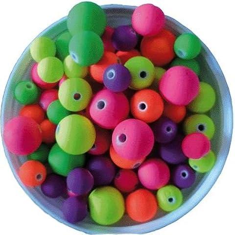 Perline Tonde in plastica opaco–Vaso di