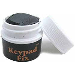 Keypad Fix, Clean and Restore Conductivity to the Carbon on the Keys and the Copper PC Board Pads by American Science & Surplus