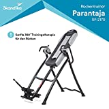 Skandika Parantaja - Panca di inversione - 5 Inclinazioni Regolabili - Fino a 150 kg - Pieghevole -...