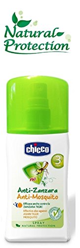 Chicco Anti-Zanzara Spray, Formato da 100 ml