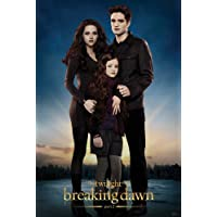 Twilight Breaking Dawn Part 2 - Edward Bella Renesmee Poster with Accessory
