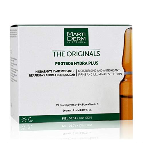Martiderm Fiale di proteoglicane, 30 pezzi, Vitamina C per il viso e Proteoglicani, originali Hydra Plus