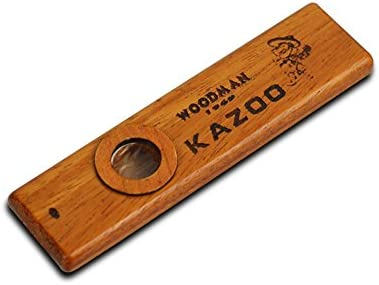 akaufeng Kazoo Madera Instrumentos de Música con caja de metal