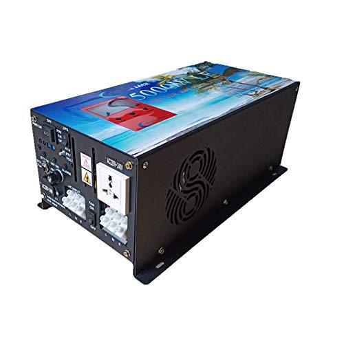 Convertisseur pur sinus 5000w onduleur 24V à 220V onde sinusoïdale pure power inverter/ UPS/Chargeur de batterie 80A