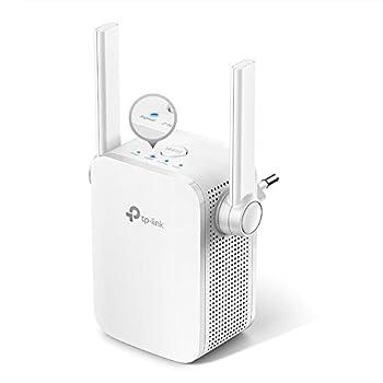 Tp-link Re305 Ac1200 Wlan Repeater (Dual Wlan Ac+n, 1167 Mbits, App Steuerung, 1 Port, 2x Flexible Externe Antennen, Wps, Ap Modus, Kompatibel Zu Allen Wlan Geräten) Weiß 2