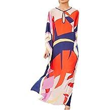 L-Peach Vestido Túnica de Playa Pareo Bikini Cover Up para Mujer Talla única